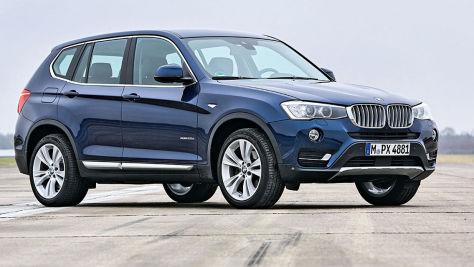 BMW X3: Gebrauchtwagen-Preise