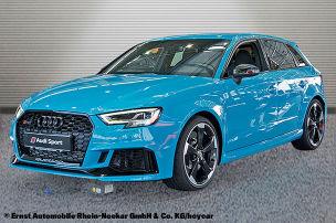 Audi RS 3 in Porsche-Farbe zu verkaufen
