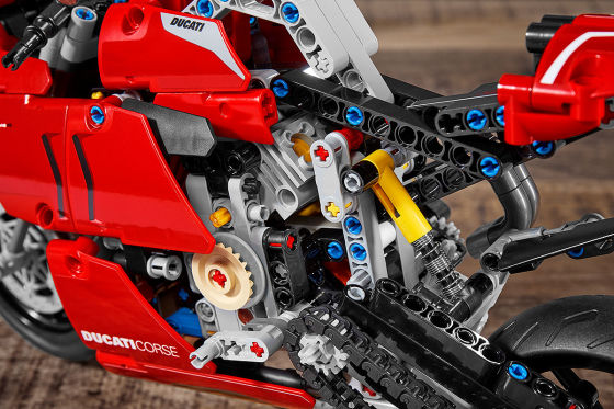 Ducati Panigale V4 R: Lego Technic