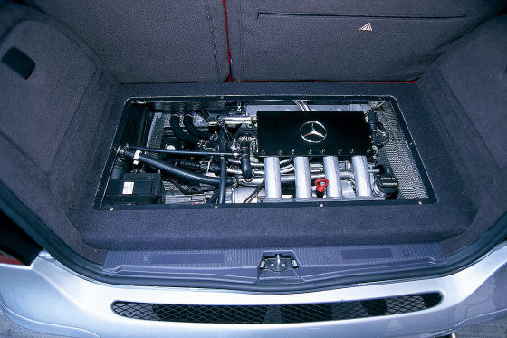 Mercedes A 38 AMG mit zwei Motoren