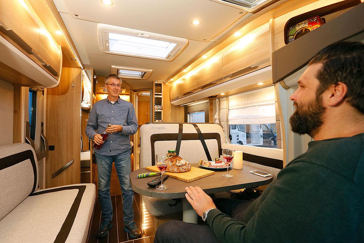 Wohnmobil-Test Knaus Sky TI 650 MF Platinum Selection