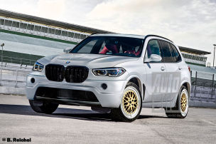 Ein neuer BMW X5 V12 w�re brutal!