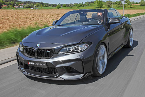 BMW 2er Cabrio Tuning: Lightweight M2-Umbau