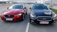 Jaguar XE/Infiniti Q50: Gebrauchtwagen-Test