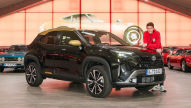 Toyota Yaris Cross (2021): Sitzprobe
