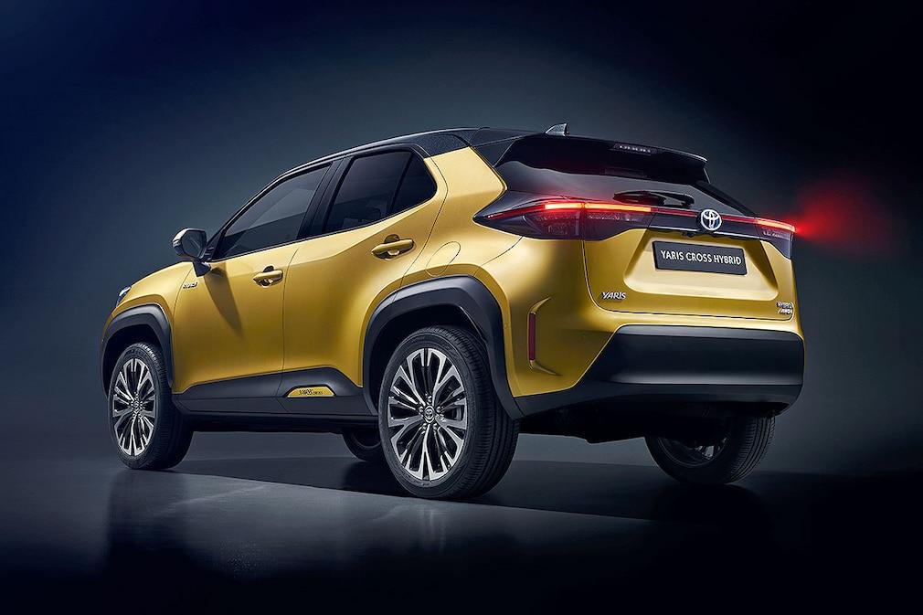 Toyota Yaris Cross Hybrid AWD-i