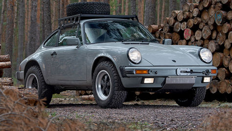 Porsche 911 Carrera 3.2: Safari-Elfer