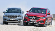 Mercedes GLA und Volvo XC40 im Vergleich