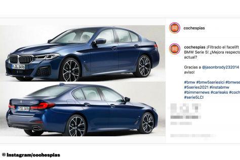 BMW 5er Facelift (2020): Leak