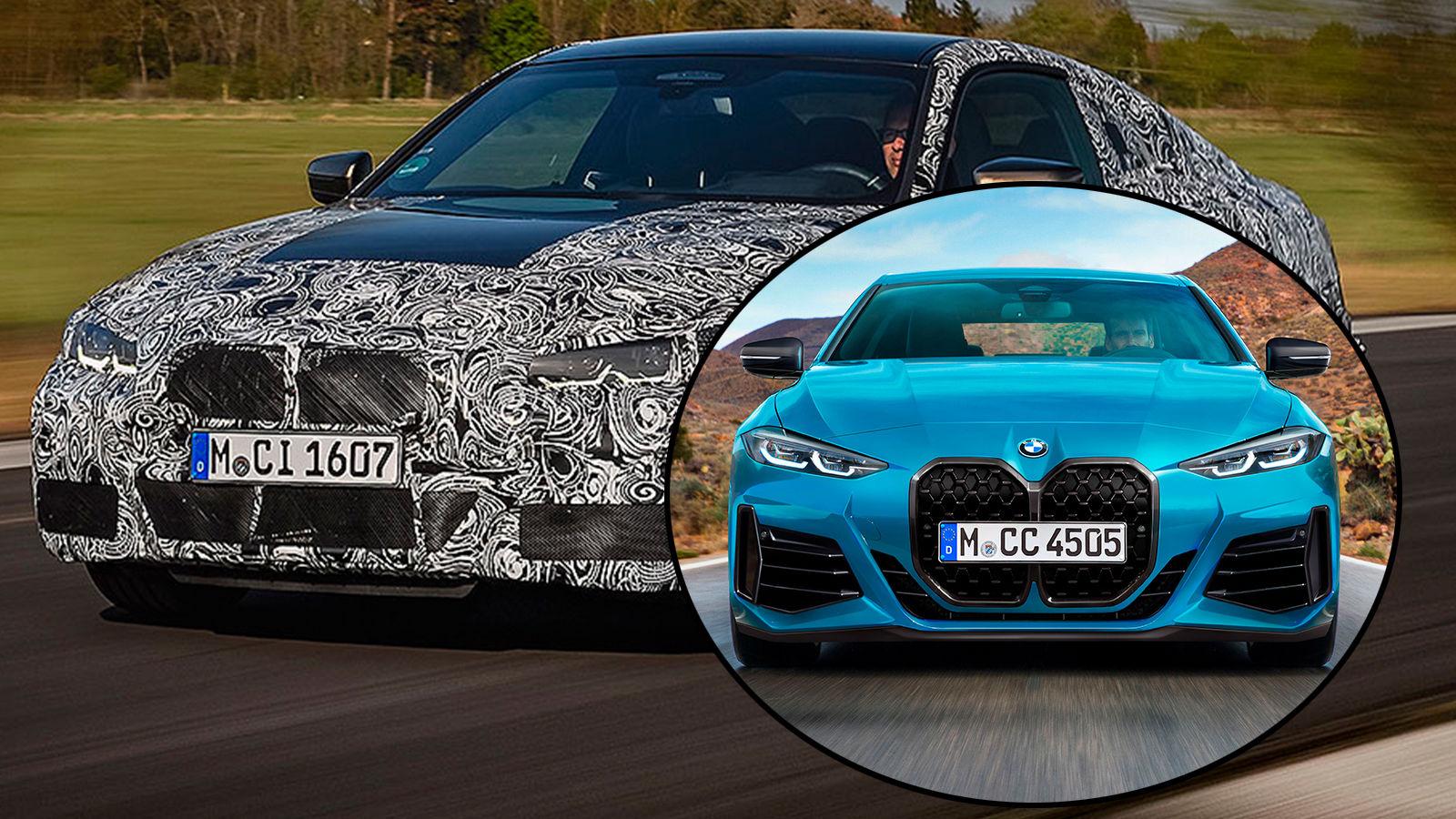 BMW 4er (2020): Erlkönig - Neuvorstellung - Coupé ...