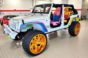 In diesem Jeep stecken 80.000 Dollar!
