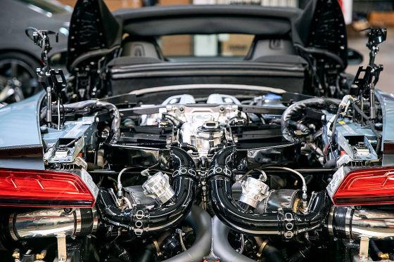Turbo-Power für den Audi R8
