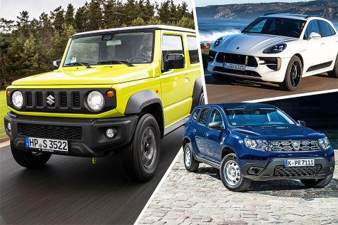 Mini-Wertverlust: Mit diesen SUV lässt es sich sparen (BILDplus)