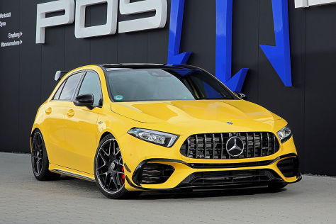 Mercedes-AMG A 45 Tuning: Posaidon RS 525