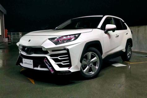 Toyota RAV4 Tuning: Albermo XR51-Bodykit
