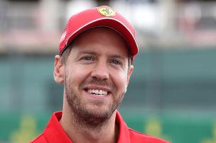 So will Ferrari Vettel halten