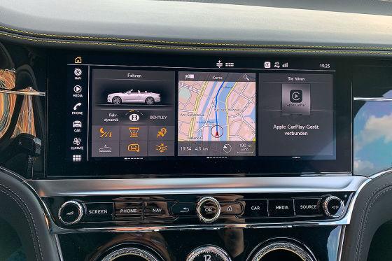 So gut ist der Continental GTC vernetzt!