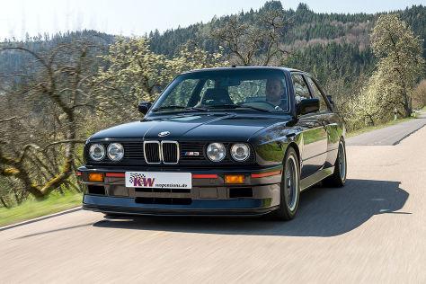 BMW M3 (E30) Tuning: KW-Fahrwerke
