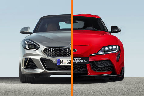 BMW Z4 / Toyota Supra: Infotainment, Android Auto, Operating System