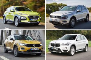 Die meistverkauften SUVs im Vergleich