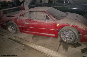 Ferrari F40 im Irak wiedergefunden