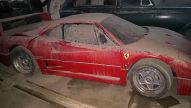 Seltener Ferrari F40 im Irak gefunden