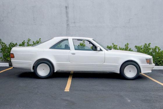 Mercedes 500 SEC (C 126): Sbarro Gullwing