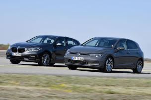 BMW 1er, VW Golf: Test, Motor, Preis
