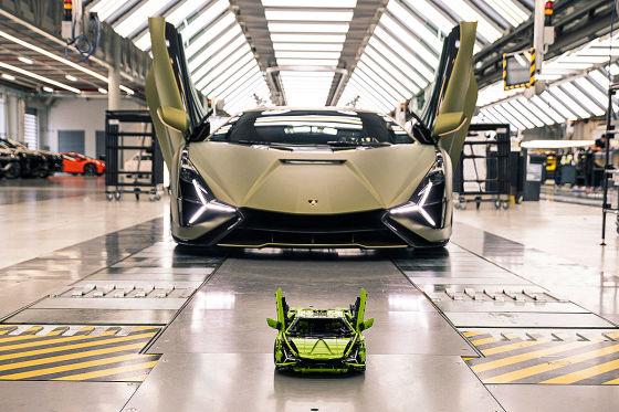 Diesen Lamborghini gibt es bald von Lego