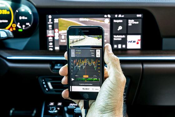 Rundkurs Training mit Apple Carplay