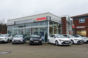 Toyota (fast) mit Topleistung