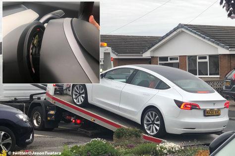 Tesla Model 3 (2020): Lenkrad fällt ab