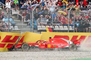 Die meisten Fahrer scheitern mit Ferrari