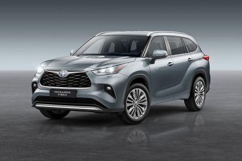 Toyota Highlander (2021): Deutschland, Hybrid, Anhängelast, Abmessungen, Preis, Marktstart