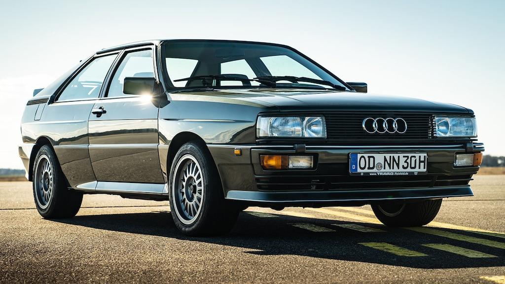Audi quattro (1980): Ur-quattro - Allrad - Coupé - Infos ...
