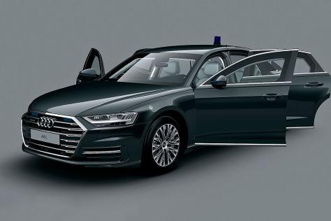 Audi A8 L Security (2020): Daten, Gewicht, Preis