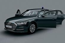 Audi panzert den A8