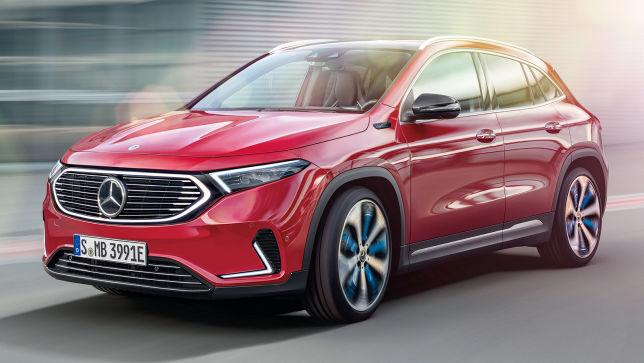 Neues Elektro-SUV von Mercedes