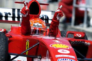 Schumi die wichtigste F1-Pers�nlichkeit