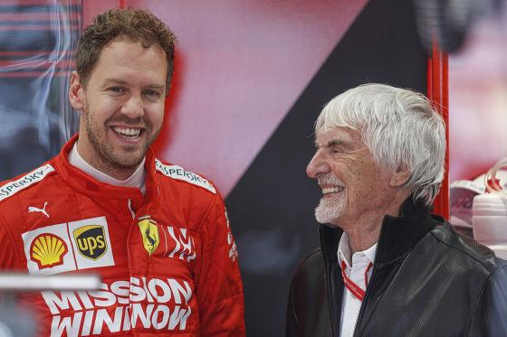 Ecclestone rät Mercedes zu Vettel
