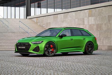Audi RS 6 Avant Tuning: Wheelsandmore Leistungs-Plus