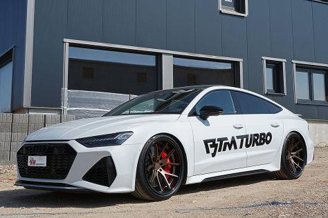 Audi RS7 Tuning: KW-Fahrwerk Variante 4