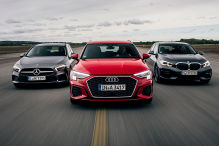 Audi A3, BMW 1er; Mercedes A-Klasse: Test, Motor, Preis