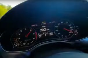 Corona-Raser im Audi RS 6