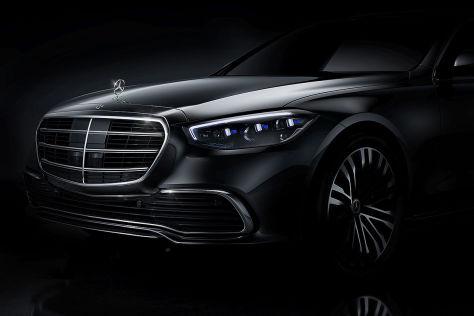 Mercedes S-Klasse (W223) 2020: Erstes offizielles Bild