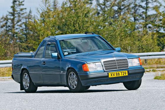 Irrer W 124-Umbau zum Pick-up!