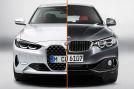 BMW 4er alt gegen neu Montage