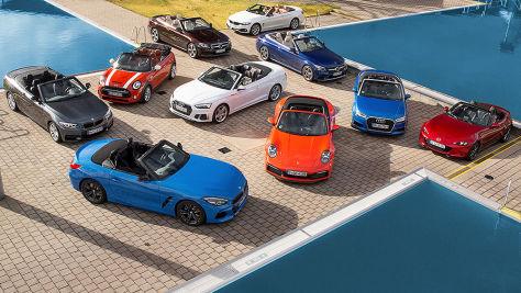 Kaufberatung: Cabrios und Roadster