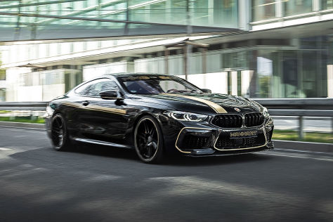 BMW M8 Coupé Tuning: Manhart MH8 800