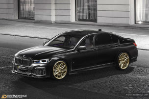 Gangster-Look f�r den BMW M760Li